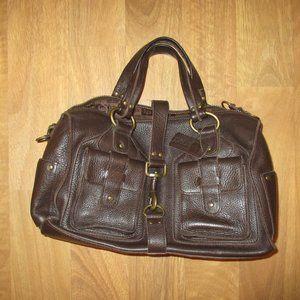 Linea Palle Italian Leather Purse Bag Tote Satchel